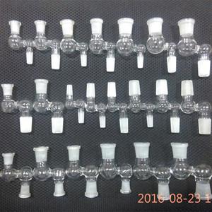 Bonger Bong 2016 Nouveau Design bongs adaptateur 90 degrés verre bongs tuyaux d'eau anneau-percolateur downstem 10mm à 14mm bol mini verre dropdown