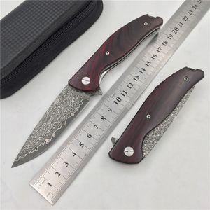 Ücretsiz nakliye, promosyon ayı dövme Şam çelik yüksek sertlik açık bıçak seyahat taşınabilir küçük katlanır bıçak meyve bıçağı
