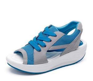 Мода Потеря Веса Женская Обувь Весна Лето Осень Качели Женская Дышащая Сетка Обувь Женская Повседневная Обувь 3 Цвет