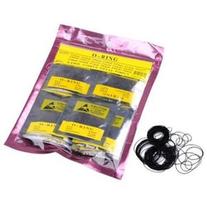 Al por mayor-Tamaño 12-30mm Excelente calidad Set 950pcs 0.5mm Dia Ronda O Ring Caja del reloj Volver Gasket Rubber Seal Washers