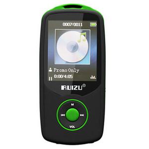 Nueva original RUIZU X06 Bluetooth Sport MP3 Player con lector de pantalla puede 1.8inch 100 horas de alta calidad sin pérdida grabadora de FM