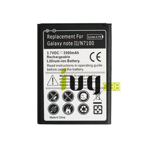 3500mAh EB595675LU de remplacement pour Samsung Galaxy Note II 2 N7100 N7000 N7102 T889 T-Mobile Sprint L900 Verizon i605 Batteries
