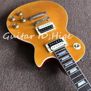 Высокое качество новое прибытие Slas гитара китайский гитара завод электрогитара желтый Slas аппетит, горячий продавать высокое качество guitarra