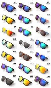 Envío gratis diseñador de la marca Spied Ken Block Helm gafas de sol multicolor lente de revestimiento hombres gafas de sol gafas de sol 21 colores