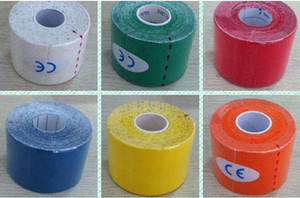 200pcs cheap high quality water proof 5cmx5m kinesio tape kinesio tex tape kinesiology tape sport tape 11colors choose