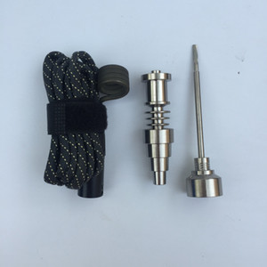 Tool Parts Gr2 G2 Titanium Nail 16mm 20mm Heater Titanium NAIL Female Male With Carb Cap for Vaporizer