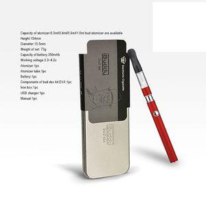 Kit de inicio 100% Original Buddy Dex Pluma vaporizador de aceite grueso Ego thread bud dex Ce3 kit de pluma vape cartucho de aceite concentrado desechable