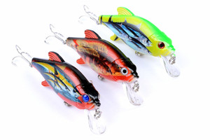 3pcs of Minnow Topwater Fishing Lure Artificial Bait Fake Lures Pesca Fishing Bait Accessories Big Game Pesca Hooks Leurre Peche