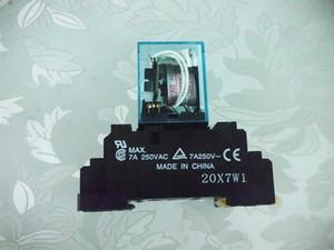 MY4N-J 220 / 240VAC 5A اومرون جديد الجهد التتابع منخفضة الطاقة مع ضمان قاعدة جودة عالية لمدة عامين