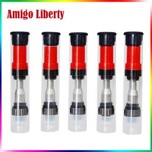 Amigo Liberty V1 Cartouche en Verre pour Réservoir Vape Amigo Stylo Vaporisateur 510 Cartouche Filet 0.5ml 1.0ml Réservoir énorme