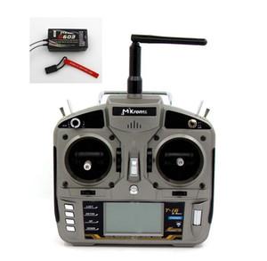 MKron T-i6 DSMX Full Range 2.4GHz 6 CH Radio Transmitter Pass Back Temperature voltagefunction W  S603 Remote Receiver