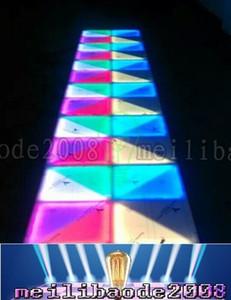 RGB Led Dance Floor Panel Tanzfläche Bühne Licht Disco Panel 432pcsX10mm LED Dance Floor Disco KTV Licht Bühne Beleuchtung Boden MYY18