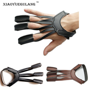 Высокое качество 3 пальца Стрельба из лука защиты перчатки Стрельба из лука перчатки Ultrafiber перчатки дизайн для охоты стрельба соединение изогнутый лук