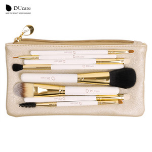 Ducare Professional Brush Brush Set 8pcs High Quality Tools Kit with Bag Super Nice Beauty Essential Brush Set