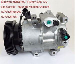 Акцент автомобиль аксессуары автоматический компрессор AC 6SBU16C для КІА Cerato Хундай Veloster в/977012F800AS 977012F800