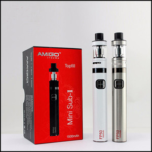 Authentisches Amigo Itsuwa Mini Sub II Kit mit 1500mAh FP50 Batterie 1,6ml Mini Polestar Top Filling Tank VS Kanger Subvod Kit