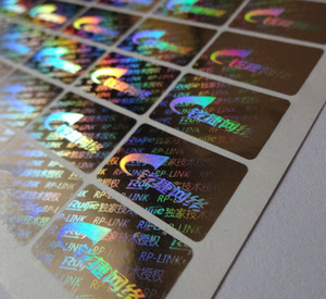 Özel yapılmış Sabotaj Belirgin Hologram Sticker baskı ÜCRETSİZ TASARIM!