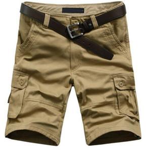 2016 Sıcak Satış Yaz erkek Ordu Kargo Çalışması Rahat Bermuda Şort Erkekler Moda Spor Genel Kadro Maç Artı boyutu Pantolon ücretsiz kargo
