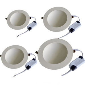 30 W 18 W 12 W 8 W 4 W Flush Mount LED Down Light Painel de Luz da lâmpada placa de guia de luz para Shopping Mall Supermercado Decoração Moderna Lampada