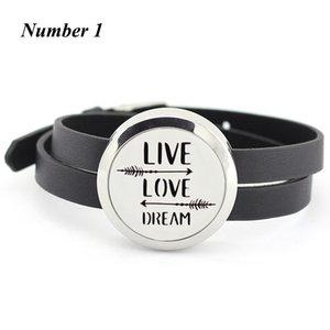 30mm twist aromatherapie medaillon armband 316l Edelstahl Parfüm Medaillon mit PU Leder Band Öl Diffusor Medaillon Armband
