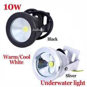 1 년 보증 알루미늄 Led 조명 LED 수 중 라이트 LED 10W 12V 수족관 분수 풀 램프 조명 IP68 방수 온 / 시원한 흰색 조명