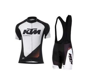2017 set di Jersey di riciclaggio per gli uomini ropa estate pro team di ciclismo MTB mountain bike abbigliamento mtb usura della bici KTM bicicletta set