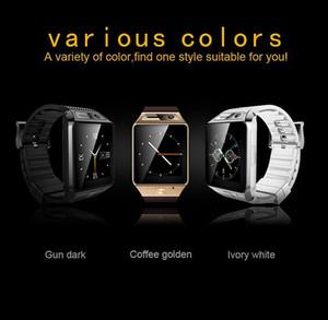 """Chegada nova Luxo relógio inteligente telefone GV08S 1.54 """"OGS 2.0MP camear relógio android CE FCC ROHS anti perdeu relógio inteligente música jogar bluetooth"""