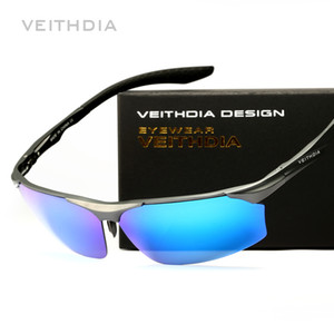 VEITHDIA Aluminum Magnesium Polarized Men Sunglasses Driver Mirror Sun Glasses Male Eyewear For Mens oculos de sol masculino 6576