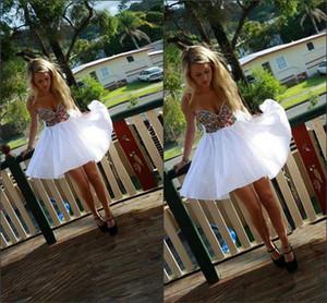 Querida Curto Homecoming Vestidos De Cristal Frisado Homecoming Vestidos Barato Mini Coquetel Formatura Vestidos 2016 Imagem Real
