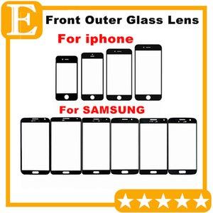 Lente de cristal exterior delantera 50PCS con la película de OCA Pre-ensamblada para las piezas de la reparación de Samsung Galaxy S3 I9300 S4 I9500 i9505 i337 S5 G900F