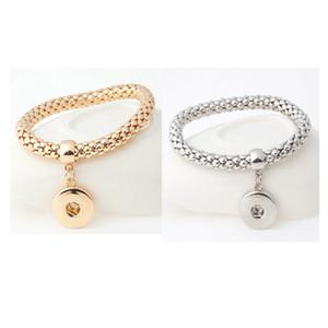 El más nuevo diseño Snap Bracelet 2 Styles Fit 18mm Venta al por mayor intercambiables NOOSA Chunks pulseras para mujeres E506E