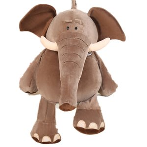 Kukucos Allemand Nici éléphant en peluche Poupée Foll bébé Oreiller Confort filles Enfants cadeau d'anniversaire