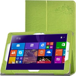"""Luxury Print Flower PU Leather Case Cover for Chuwi Hi12 12"""" Tablet + Customized Clear Screen Protector Protective Film"""