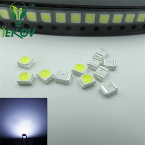 1000PCS / 가방 (1210) 3528 화이트 LED 3.0-3.2V SMD는 발광 다이오드 높은 품질의 PLCC-2 SMD / SMT 칩 램프 구슬을 강조