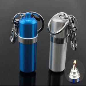 Lampe à alcool scellée portative mini d'alliage d'aluminium d'alliage coloré, couleur, style, livraison aléatoire, pipes à eau, bongs en verre, narguilés en verre, smo