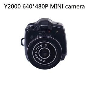 Бесплатная доставка Y2000 самый маленький мини HD видеокамера с drop доставка с розничной коробке