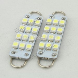 44mm 10pcs 12 patch 12LED 1210 LED lamp car light bulbs