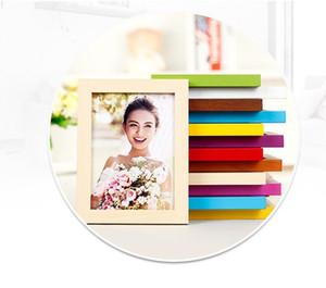 8.9x12.7cm Materiale Legno Foto Cornice in legno da sposa bianco mobili framesFestival decorazione artigianato telai regalo d'affari