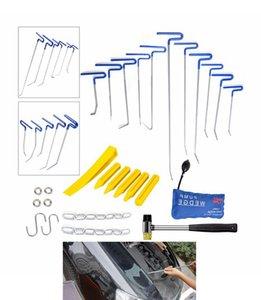 Paintless دنت أدوات إصلاح السيارات أحدث أداة PDR قضبان دنت رود السيارات مضخة المخل إسفين اليد مجموعة PDR أطقم Herramentas