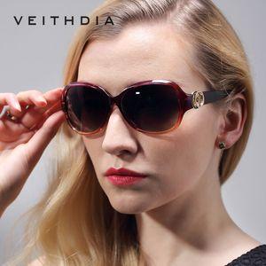 VEITHDIA Retro TR90 Vintage Polarize Güneş gözlükleri Bayanlar Tasarımcı Kadın Güneş Gözlüğü Gözlük ve Aksesuarları Kadın gafas 2330