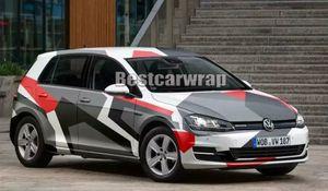 Grandi adesivi Pixel Camo VINYL Full Car Wrap Graphic Camouflage con copertura per camion Camo Adesivo con dimensioni free air 1,52 x 30m / rotolo