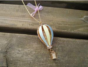 [comerciante de boa fé] oferta de fantasia de viagem balão de ar quente desejo temperamentflash jóias com diamantes