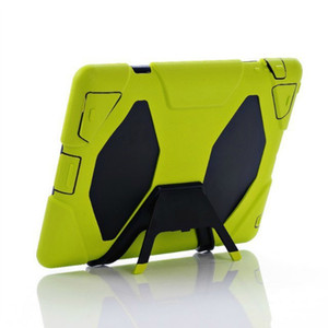 Cubierta de caja de DEFENSOR A PRUEBA DE AGUA Extrema para uso militar para iPad Mini Air Pro 2 3 4 5 STAND Holder Hybrid Estuches