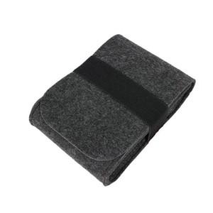 Souris mobile disque dur sac Felt power line numérique stockage sac de rangement Organizer drop shipping Peut être personnalisé