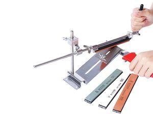 Stainless Steel Professional Knife Sharpener Tool Sharpening Machine Kitchen Accessories Grinding Knife Sharpening Set NNB8