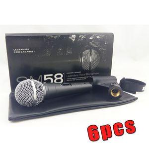 Высокое качество и тяжелый корпус SM58S SM 58S вокал караоке ручной динамический проводной микрофон реальный трансформатор внутри микрофона