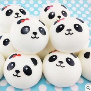 4cm 7cm 10cm Netter Kawaii Panda Squishy Charme-Telefon-Bügel-Beutel Keychian bezaubert langsames steigendes Squishies riesige Brötchen-Brotspielwaren HEISS