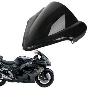 Protetor duplo do pára-brisa da motocicleta da bolha para Suzuki GSXR1300 Hayabusa 2008-2015