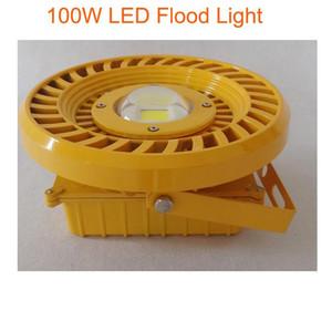 100w lumière antiexplosion légère anti-déflagrante de la puissance élevée LED auvent léger bridgelux45mil Meanwell Driver 3years de garantie