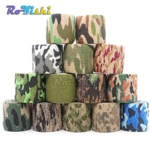 1 Rollo U Pick 4.5 m * 5 cm Impermeable Camo Camuflaje Al Aire Libre Caza Camuflaje Stealth Tape Wraps